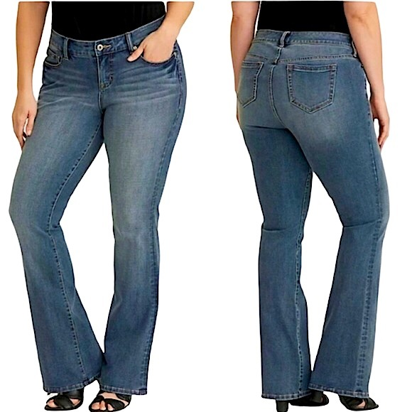 Torrid Premium Ultimate Stretch Slim Bootcut Jeans